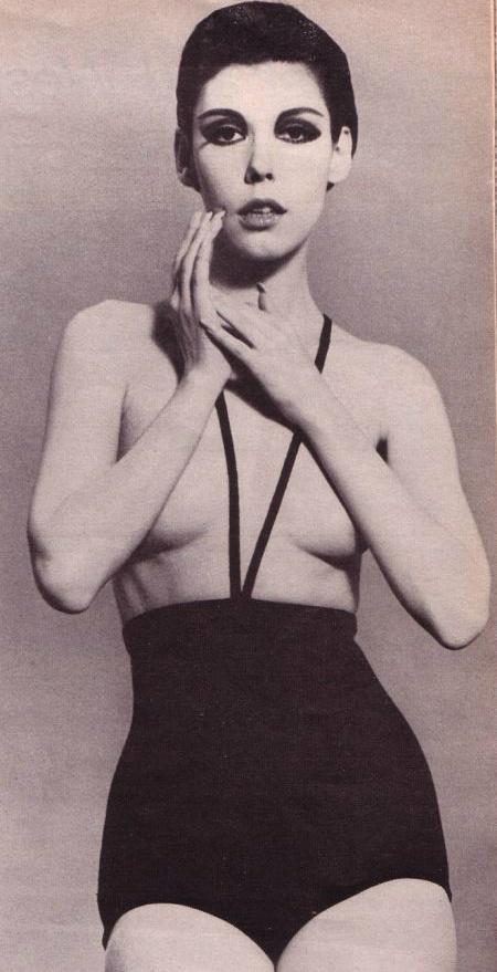 Rudi Gernreich topless swimsuit 1960s