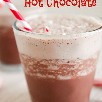 Skinny Frozen Hot Chocolate | Fit Sweets | Pinterest