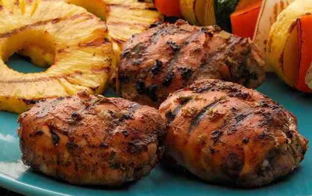 Jerk Chicken Thighs | Freezer Batch Meal Ideas | Pinterest