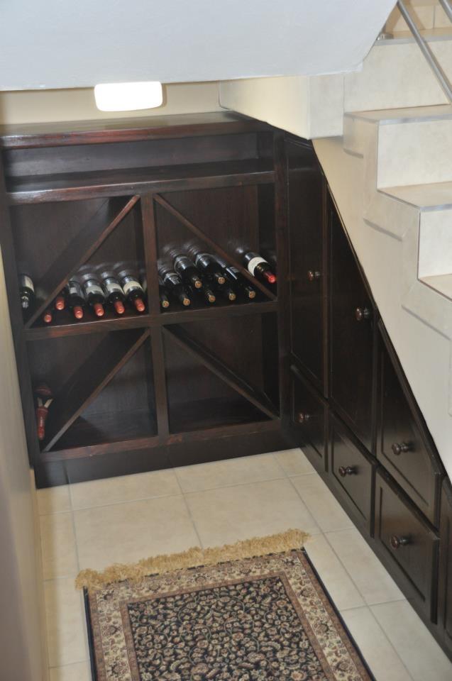 Under Stairs Wine Rack And Storage Decor Ideas Pinterest