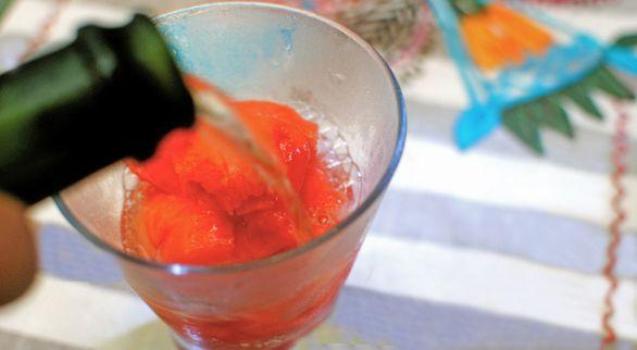 Sparkling Sorbet Cocktail Pick any flavor of sorbet you'd like. Go ...