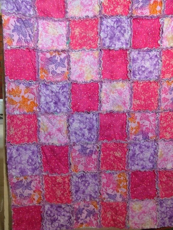 Rag Quilt Ideas Pinterest : Rag Quilt Sewing and Quilting ideas Pinterest