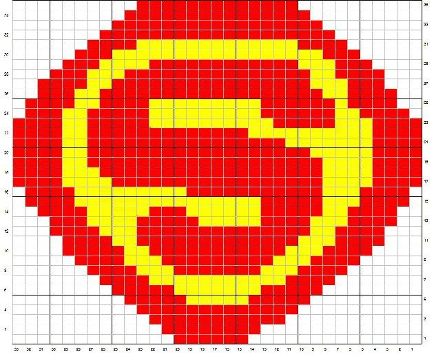 Superman Knitting Pattern : Superman knit pattern Pat Pats Hats Knitted Hat ideas Pinterest
