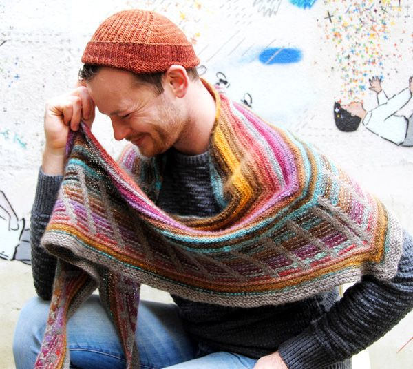 Metalouse shawl : Knitty Winter 2012   Knitting & things made w/needl ...