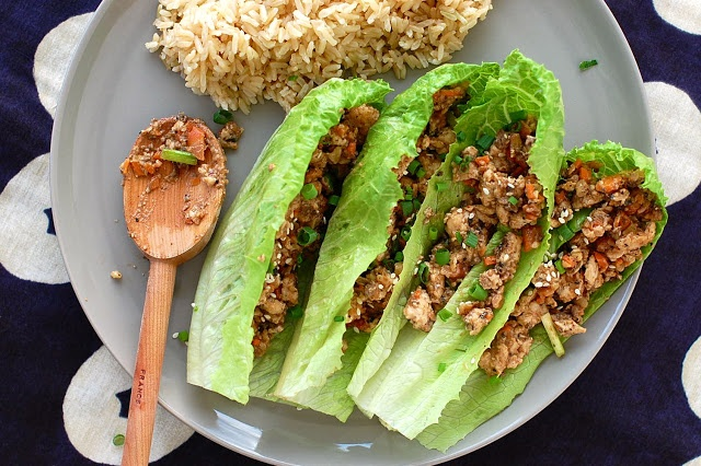 Butter Than Toast: PF Chang's Copy cat Chicken Lettuce Cups