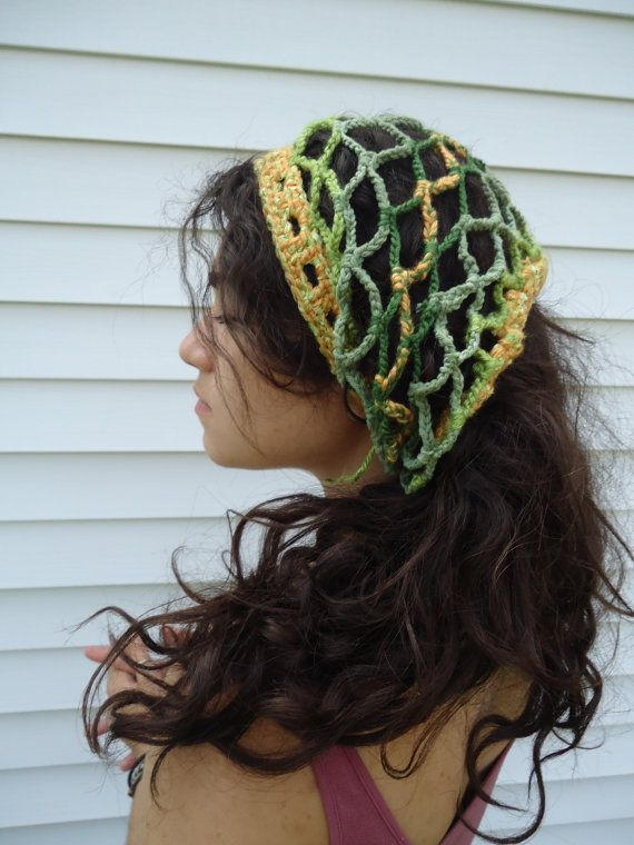 Crochet Dreads : Pineapple Pineal Crochet Dread Wrap