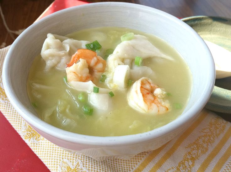 Won Ton Soup | Recipes I want to try | Pinterest