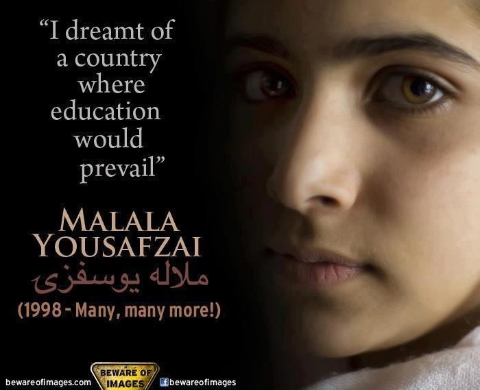 Malala- This girl is amazing!