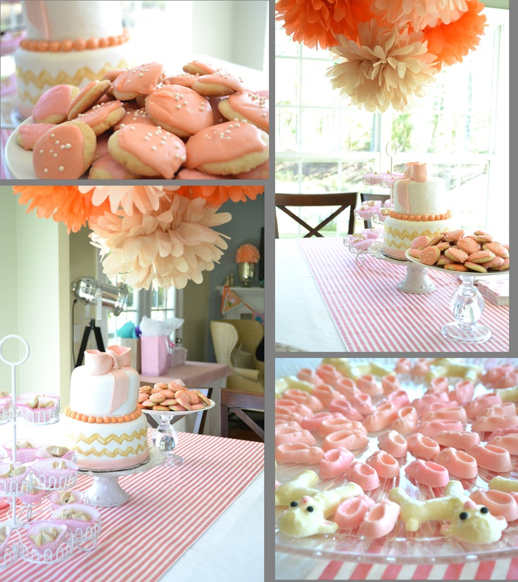 girl baby shower baby shower ideas pinterest
