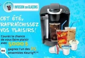 Concours Keurig : Gagnez 5 000$ ou l'un des 25 ensembles Keurig ! - Quebec echantillons gratuits