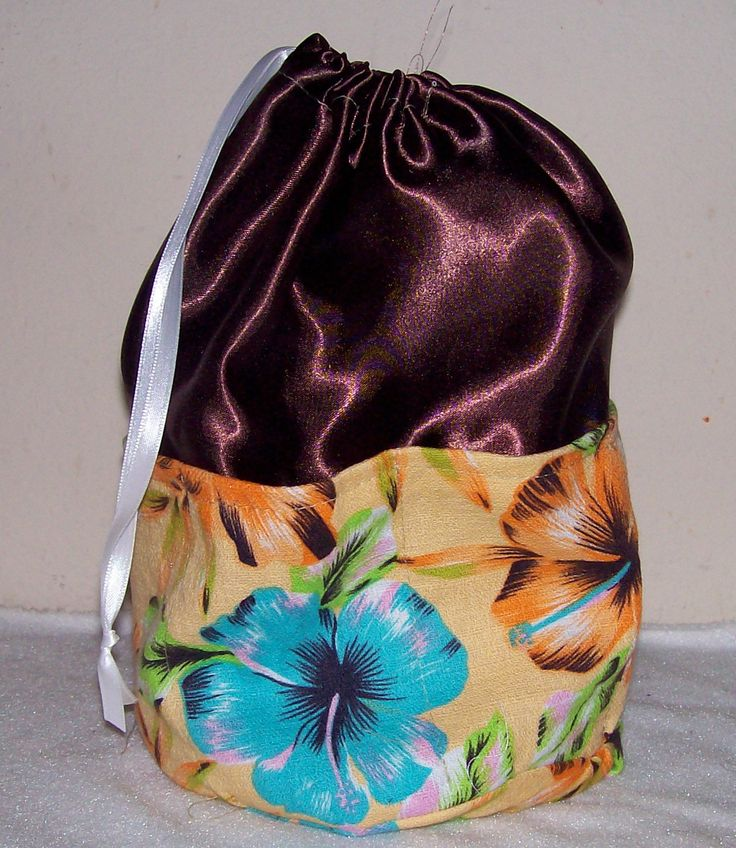 Make drawstring bags how to information ehowcom 2015 for Drawstring jewelry bag pattern