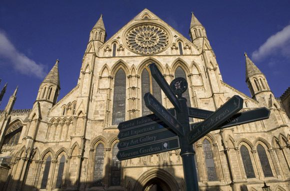 Visit the walled city of York, England