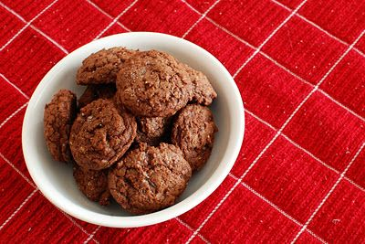 triple chocolate salted cookies | cookies, brownies, bars & candies ...
