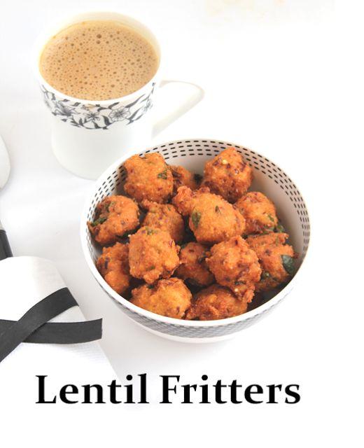 Jaya's recipes: Spicy Lentil Fritters|Kunukku