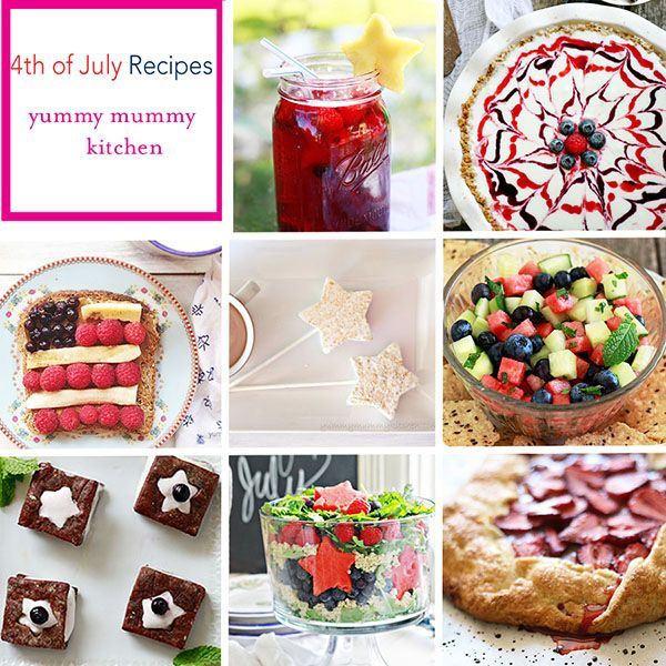 fourth of july foods and drinks