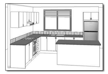 Shaped Kitchen View.jpg (350241)   Kitchen Remodel   Pinterest