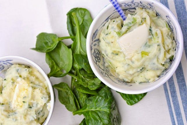 Spinach Mashed Potatoes | Food! | Pinterest
