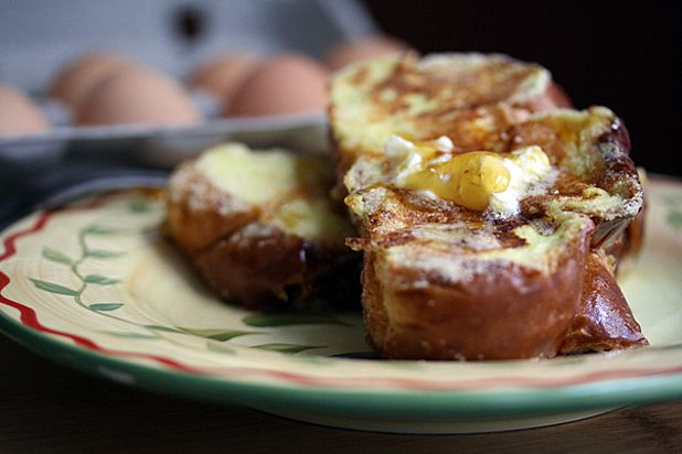 Cornmeal-Crusted French Toast