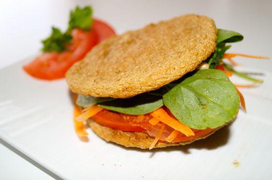 Savory version of oat flat-bread- gastrawnomica