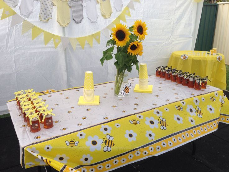 Baby shower ideas Bee theme