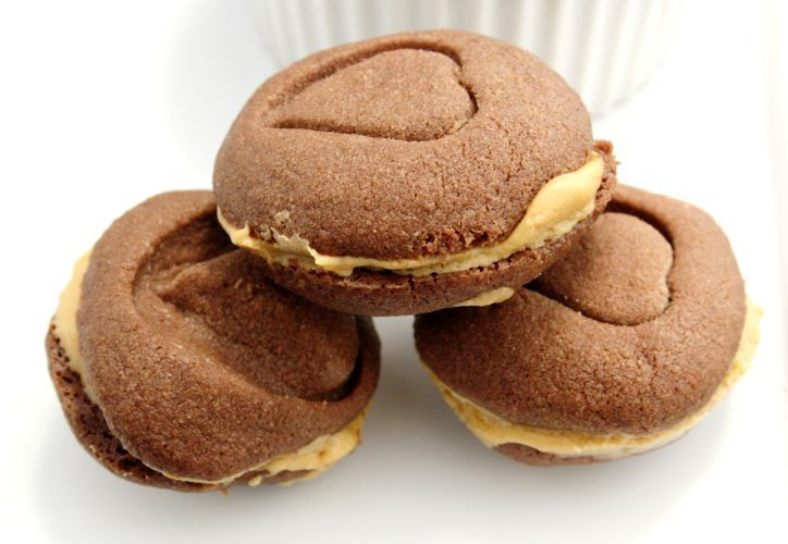 Chocolate Mocha Sandwich Cookies | Desserts | Pinterest