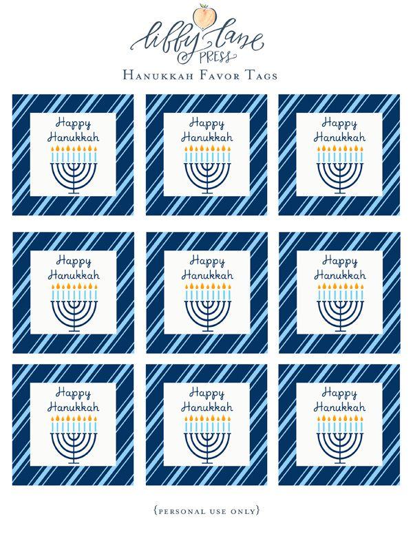 DIY Tutorial: Marshmallow Dreidels (+ FREE Happy Hanukkah Printable ...