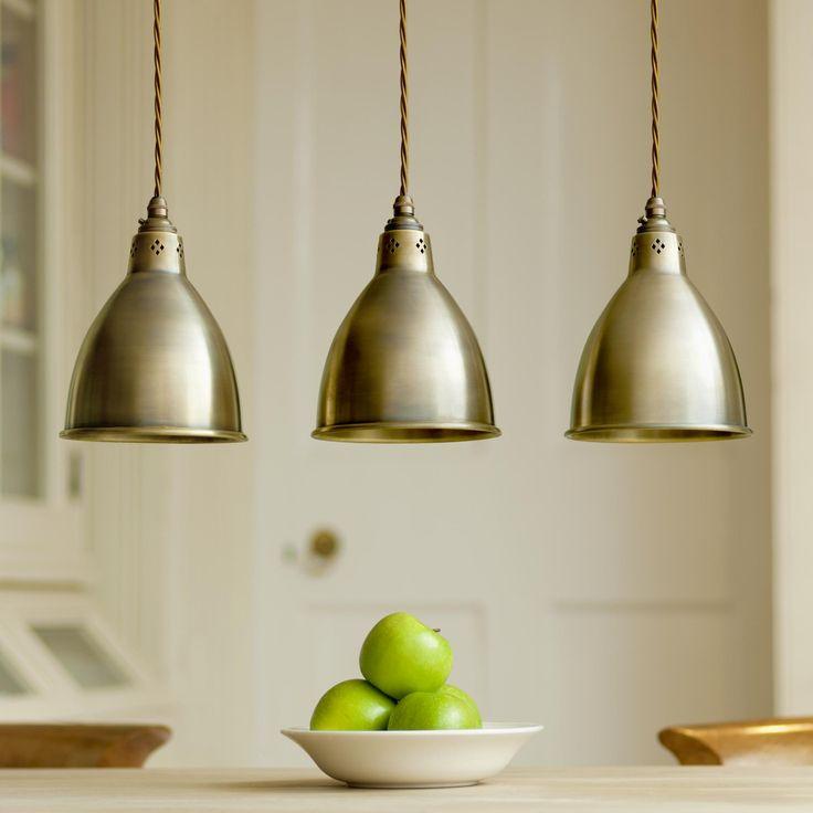 Stylish Barbican Brass Pendant