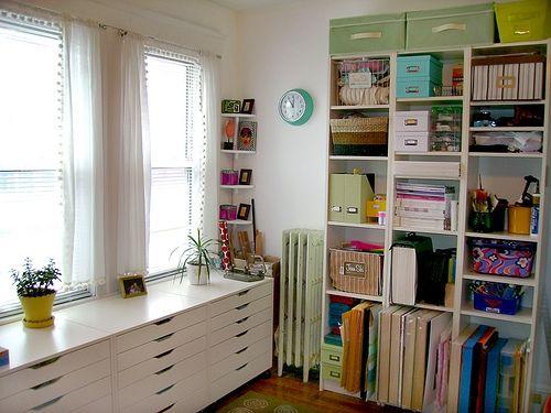 ikea craft storage home billy bookcase versatility. Black Bedroom Furniture Sets. Home Design Ideas