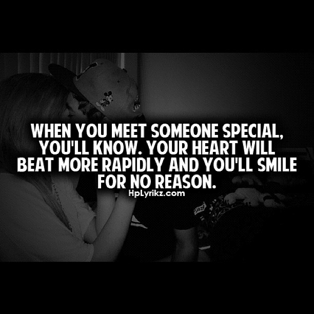 when you meet someone special