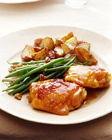 Apricot Glazed Chicken & Sweet Potatoes | Food For Me Please | Pinter ...