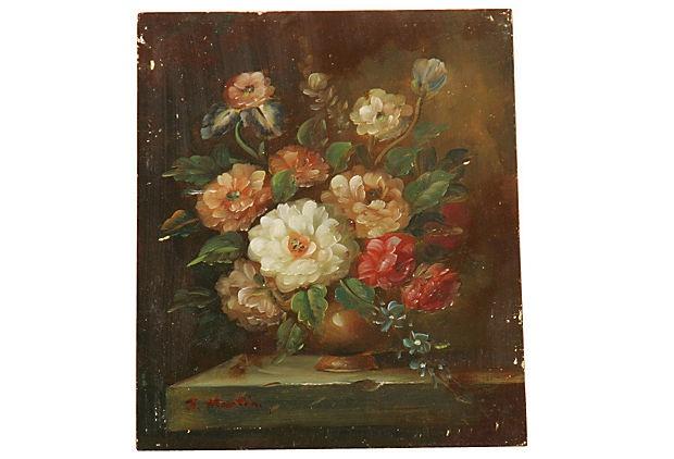 Vintage Italian Oil Painting II on OneKingsLane.com