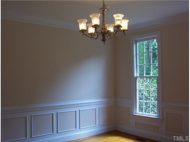 Formal dining room trim detail Raleigh