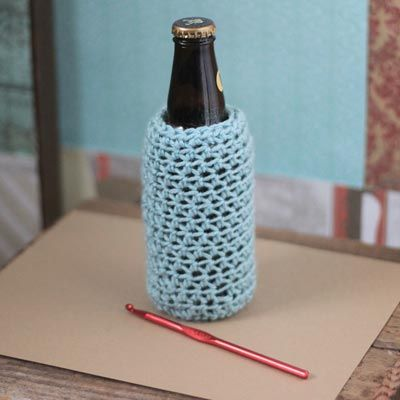 CROCHET BEER CAN COZY PATTERN FREE CROCHET PATTERNS