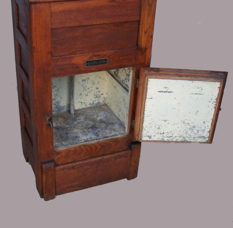Small wood Antique Ice Box  Vintage Kitchen  Pinterest