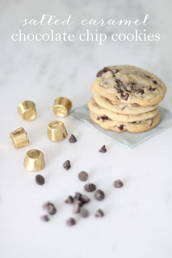 ... Blog that Celebrates Life: Salted Caramel Chocolate Chip Cookies