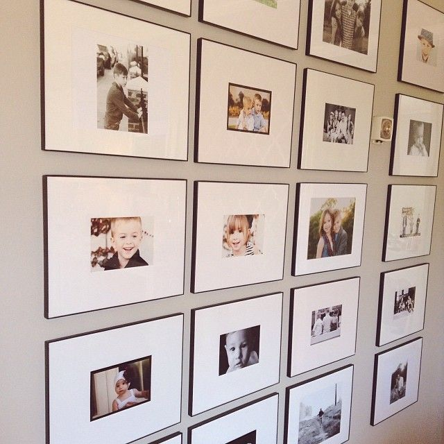 11x13 michaels craft store frames gallery wall