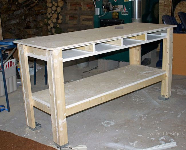 Craft Room Workbench
