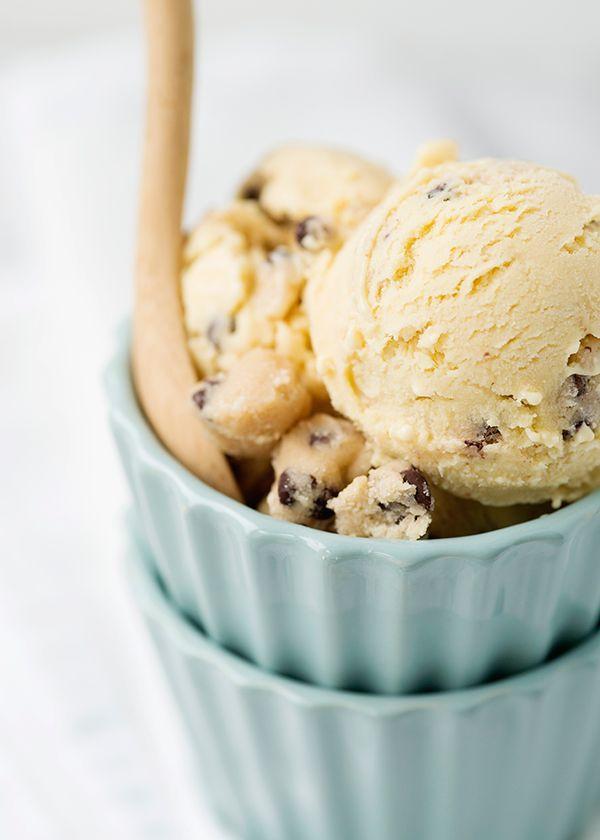 Chocolate Chip Cookie Dough Ice Cream ( best ice cream EVER!!!)