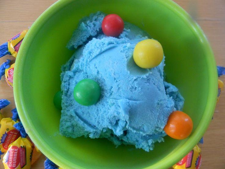 Bubble Gum Flavored Ice Cream Recipe | Receipt | Pinterest