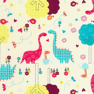 Baby dinosaurs fabric from equilter fabric pinterest for Baby dinosaur fabric