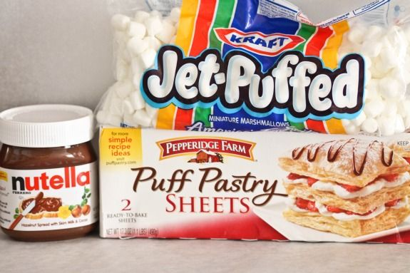 Nutella Mallow Pillow Pockets. These are close enuf to being a S'more ...