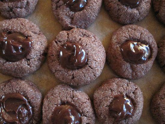 Indulge in Chocolate Ganache Thumbprint Cookies