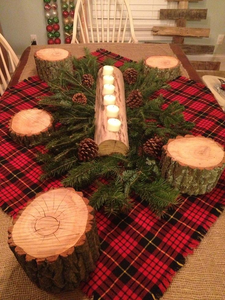 Lumberjack Table Decoration Party Ideas Pinterest