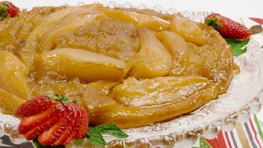 Pumpkin, Apple and Pear Tarte Tatin | Desserts | Pinterest