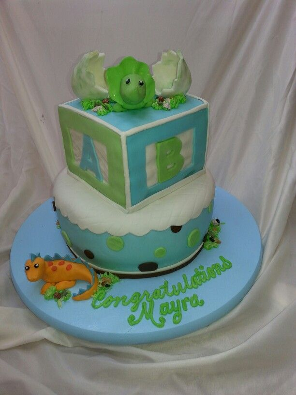 Baby Shower Cakes Dinosaur Baby Shower Cake Ideas
