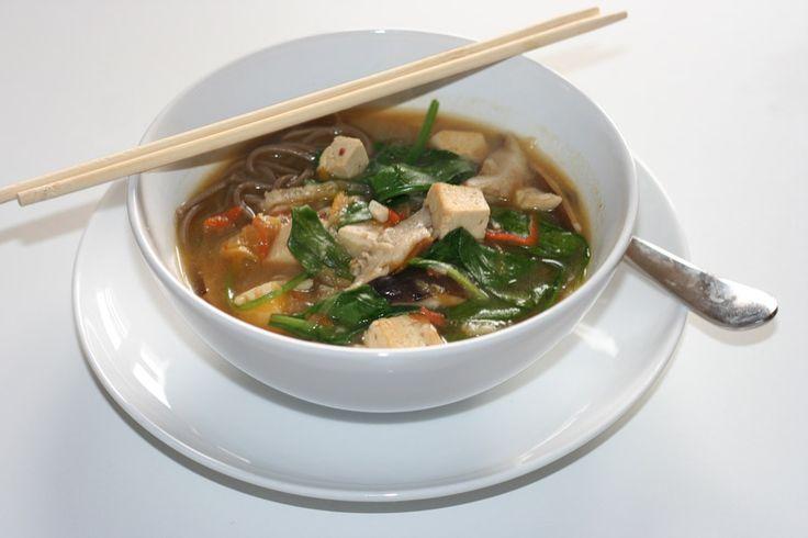 miso-ginger-soup | Vegan soups | Pinterest
