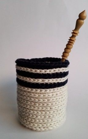 hook in cup 2 reversible faux knit crochet