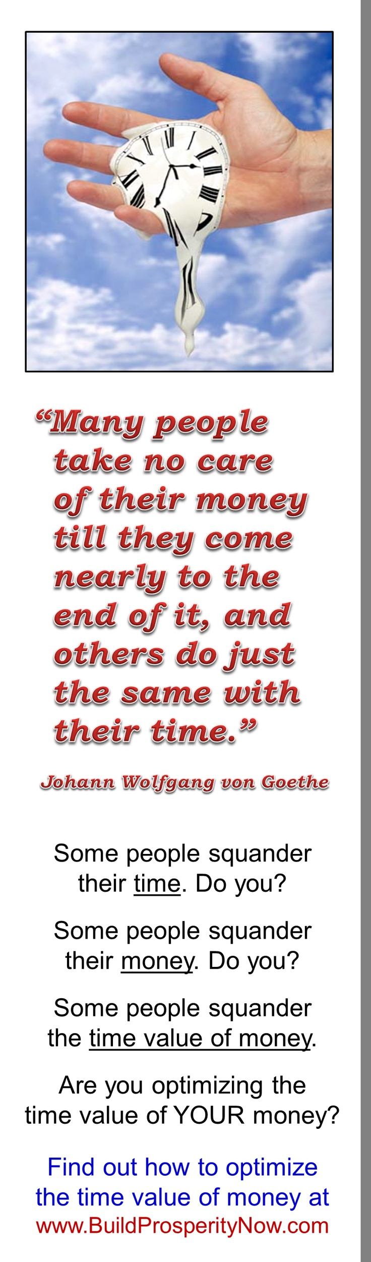 This insight by Johann Wolfgang von Goethe reminds
