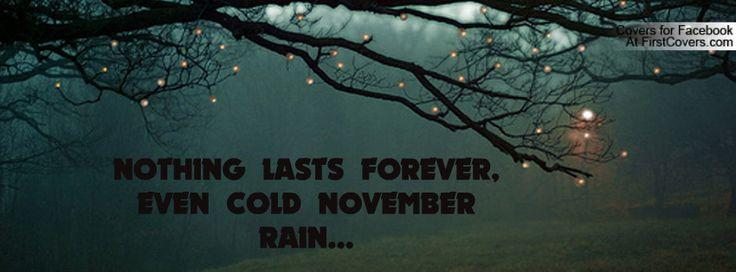 play cold november rain
