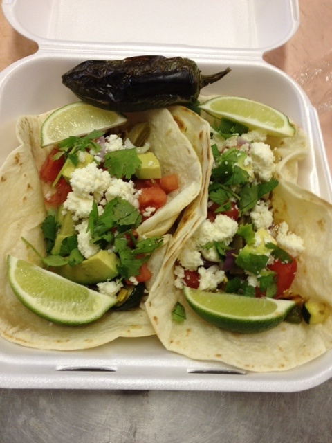 Fire Roasted Veggie Taco | Food That Looks Yummy | Pinterest